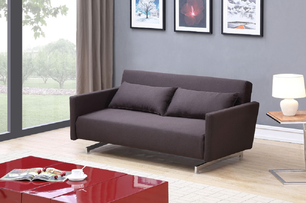 Discount Furniture Colorado Springs ... Sofa Sleeper with Chrome Legs Colorado Springs Colorado J&M-JK042