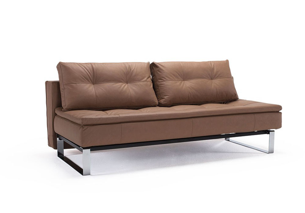 Convertible Sofa Bed Upholstered In Fabric Or Leather