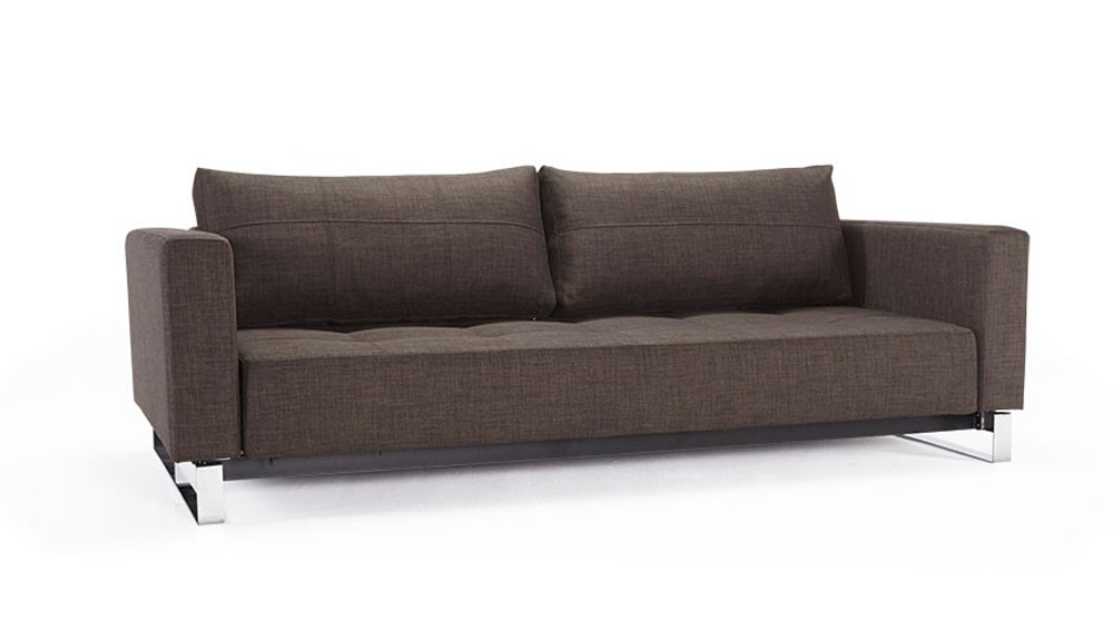 Fabric Upholstered Contemporary Sofa Bed Baton Rouge