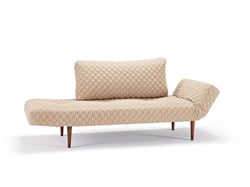 Daybed Sofa Bed In Sand Finish With Oak Legs New York New