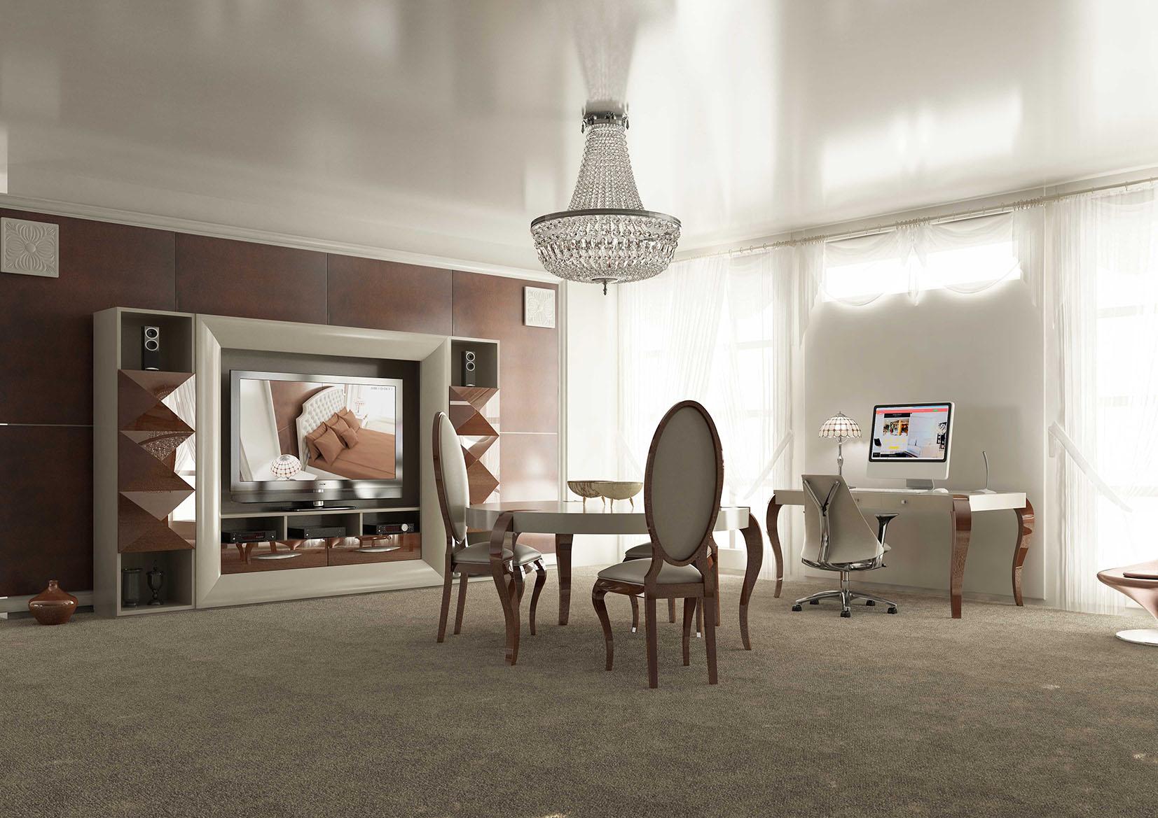 Media And Wall Units Stylish Accessories Elegant White Gloss