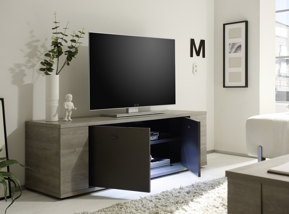 contemporary two toned wall unit designed in italy laredo. Black Bedroom Furniture Sets. Home Design Ideas
