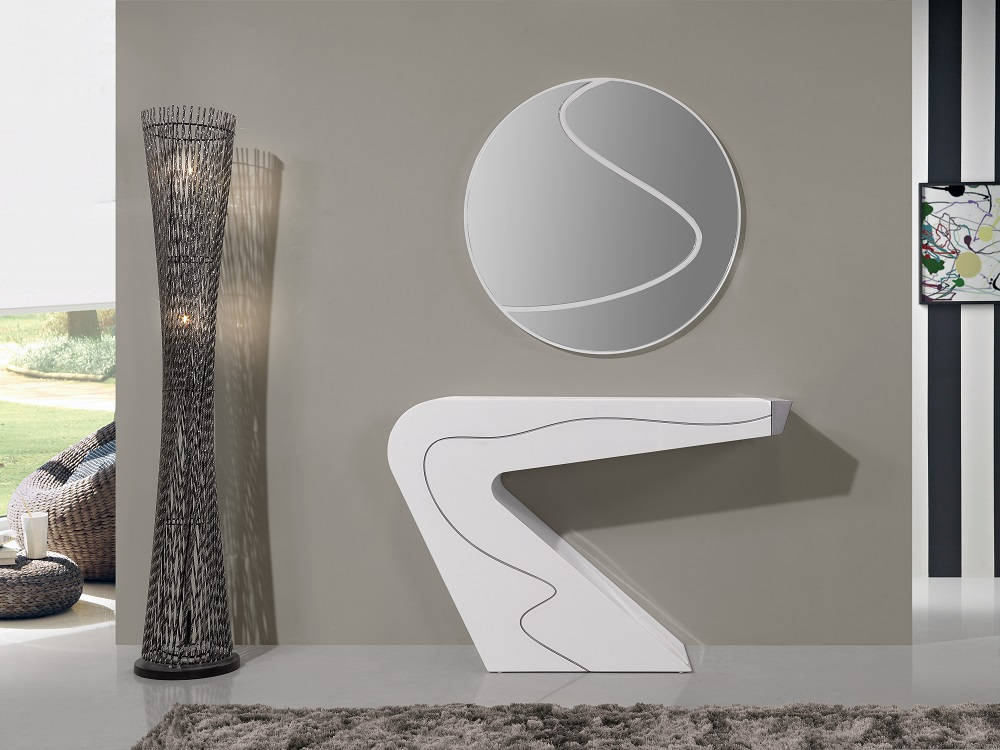 Modern Asymmetrical Design Shelving Unit With Drawer Phoenix Arizona J Amp M Seven