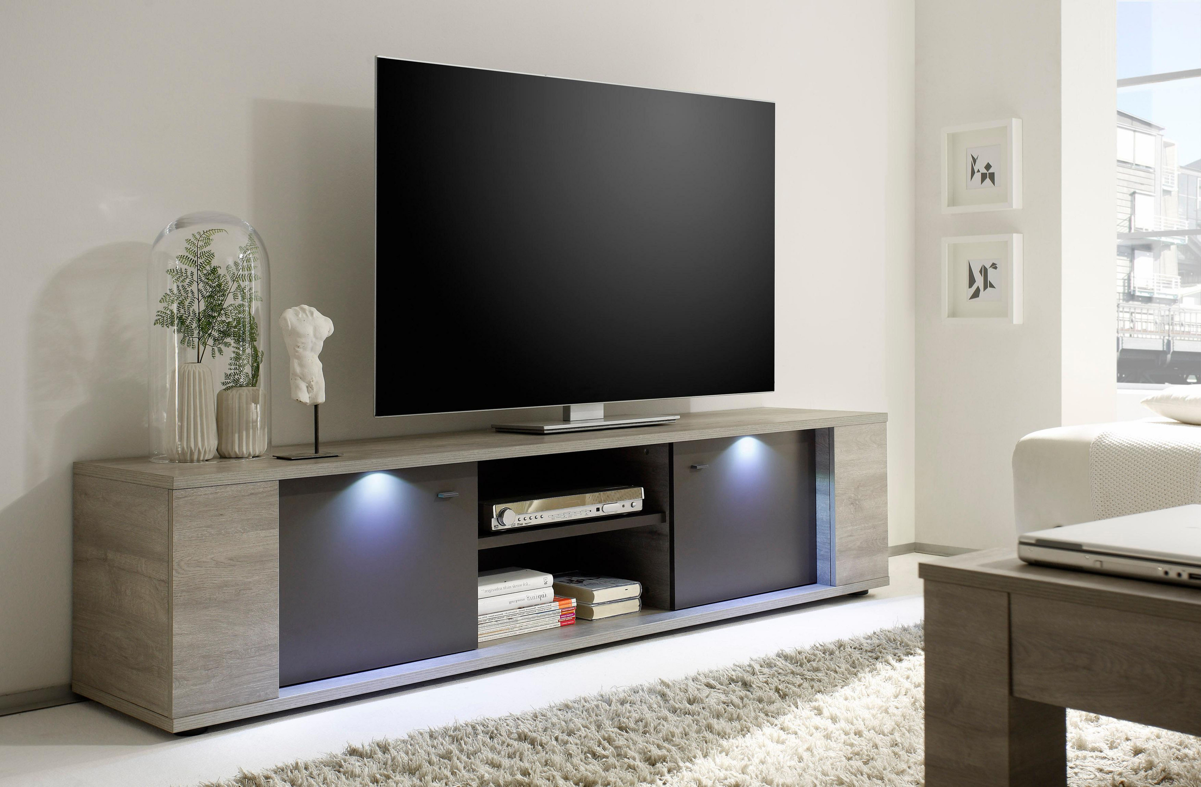 Nice ... And Matte Finished Wooden Wall Unit Larger Image