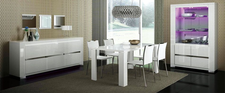 Italian Made Dining Room Set. Prime Classic Design  modern Italian and luxury furniture