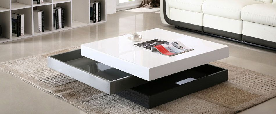 Stylish Coffee Table With Unique Design